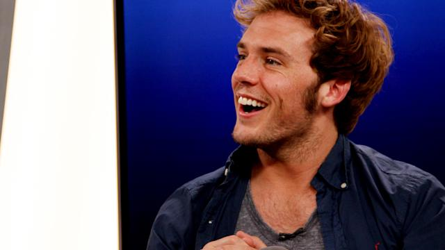 Sam Claflin Talks 'The Quiet Ones' and 'Hunger Games'