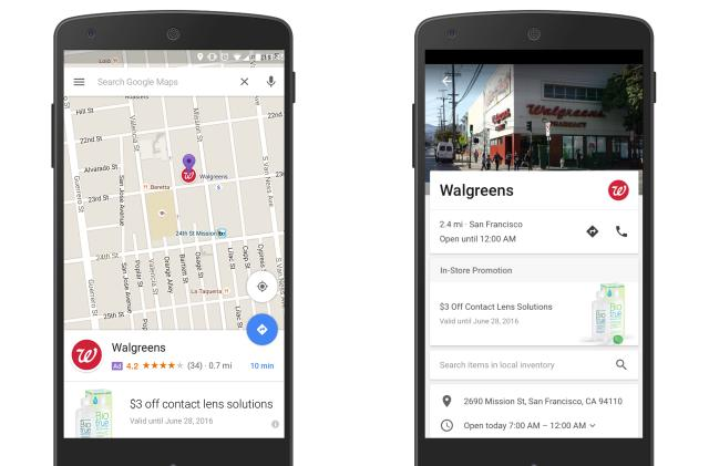 New Google Maps ads will drop branded pins on your search results