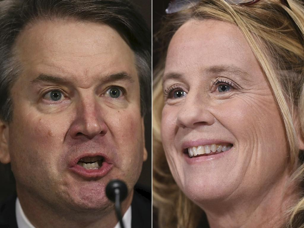 At a dramatic televised hearing, university professor Christine Blasey Ford accused Judge Brett Kavanaugh of pinning her down and assaulting her in the 1980s; he vigorously denied the allegations