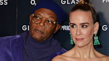 Sarah Paulson and Samuel L. Jackson showcase sartorial prowess at London premiere of 'Glass'