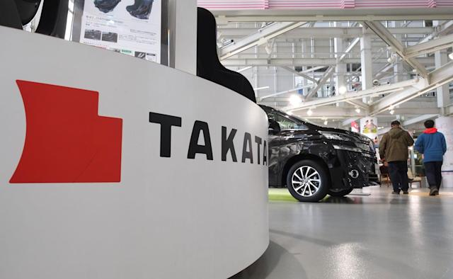 Takata pleads guilty to fraud in faulty airbag cover-up