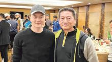 Julian Cheung declines to talk about appearance at police event
