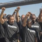 NYPD officers take a knee to support Colin Kaepernick, still looking for NFL job