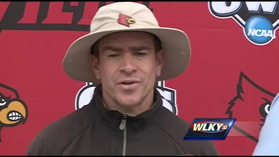 UofL players, coaches focused on present heading to CWS