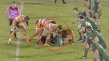 'Foul play': The 'disgusting' act that ended this rugby star's season