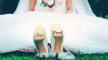 Hochzeitsshooting mit Photobombing der Extraklasse