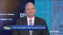 Top strategist says don't fear the sell-off, keep buying stocks