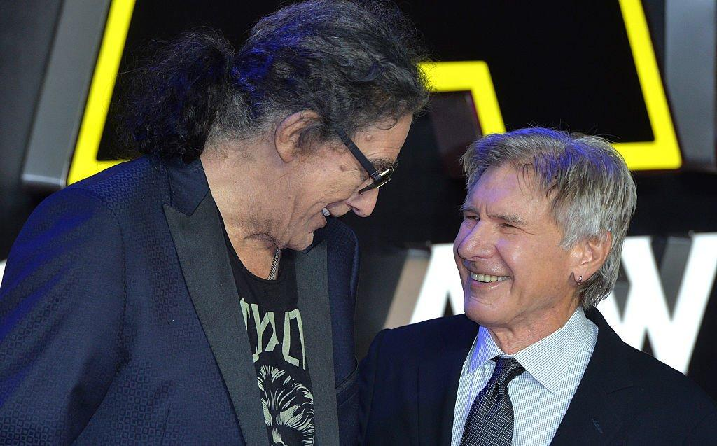 I Loved Him ' Harrison Ford Bids Farewell to Star Wars Co-Star Peter