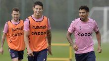 "Ancelotti habló sobre James, Allan y Doucoure: ""Están listos para jugar"""