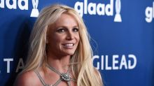 Britney Spears's 1st husband joins #FreeBritney protest outside hearing: 'She's ready for the conservatorship to end'