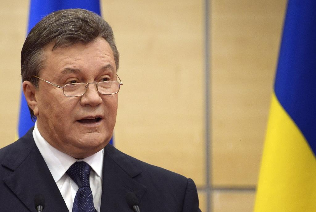 The ouster of former Ukrainian president Viktor Yanukovych in February 2014 was followed by Russia's annexation of Crimea and a bloody separatist uprising in pro-Moscow regions of eastern Ukraine