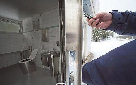 Finland's roadside toilets: now accessible only by SMS