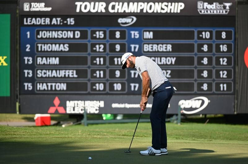 Johnson motivated by 2016 failure as he guns for FedExCup crown