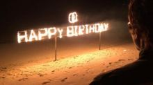 Amitabh Bachchan's birthday in Maldives: Abhishek Bachchan- Aishwarya Rai celebrated with crackers and a huge cake