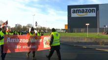 Allemagne : les salariés d'Amazon en grève