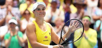 Ash Barty picks up prestigious Aussie honour