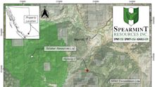 Spearmint Successfully Completes Phase Two of Its Work Program on the Hammernose Gold Project in the Spences Bridge Gold Belt of British Columbia