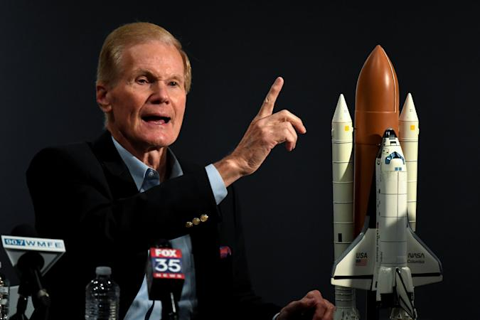 Florida Senate Candidate Bill Nelson Campaigns At The Orlando Science Center