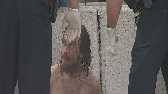 Serial burglary suspect found in hidden cavern under I-44