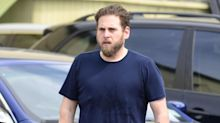 Noticeably Slimmer Jonah Hill Spotted Leaving the Gym in LA