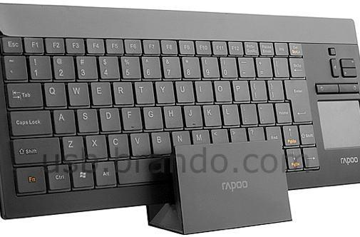 Rapoo 2900 wireless keyboard sports touchpad, Bluetooth, and that ineffable Rapoo charm
