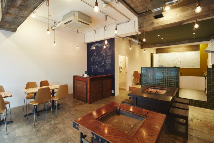 東日本橋IRORI HOSTEL and KITCHEN大廳