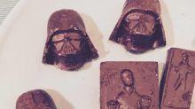 "Homemade Chocolate ""Star Wars Style"""
