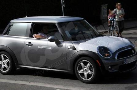 Electric MINI spotted in Munich, expected at 2008 LA Auto Show