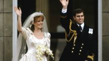 Claims Prince Andrew and Sarah Ferguson married 'on a rebound'