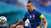 Marek Hamsik believes Slovakia are outsiders in Group E despite sitting top