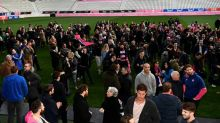 Stade Francais coach Quesada 'proud' of rugby players over strike