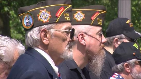 VIDEO: Vets, families celebrate real Memorial Day