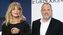 Goldie Hawn says Harvey Weinstein pulled a 'really underhanded' move when they worked together