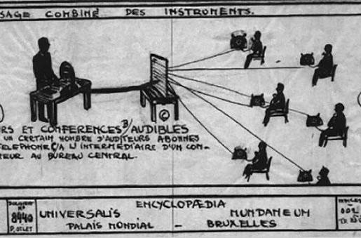 A forgotten Belgian genius dreamed up the internet over 100 years ago