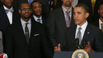 Obama praises LeBron for his social activism