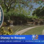 Downtown Disney In Anaheim Reopens Thursday; All Guests Must Undergo Temperature Checks