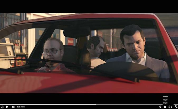 'Grand Theft Auto V' at 60 frames per second looks incredible