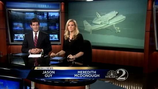 Endeavour leaves KSC for final time