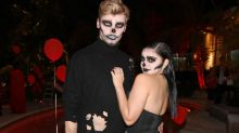 Ariel Winter Flaunts Her Curves in Sexy Skeleton Costume with Levi Meaden