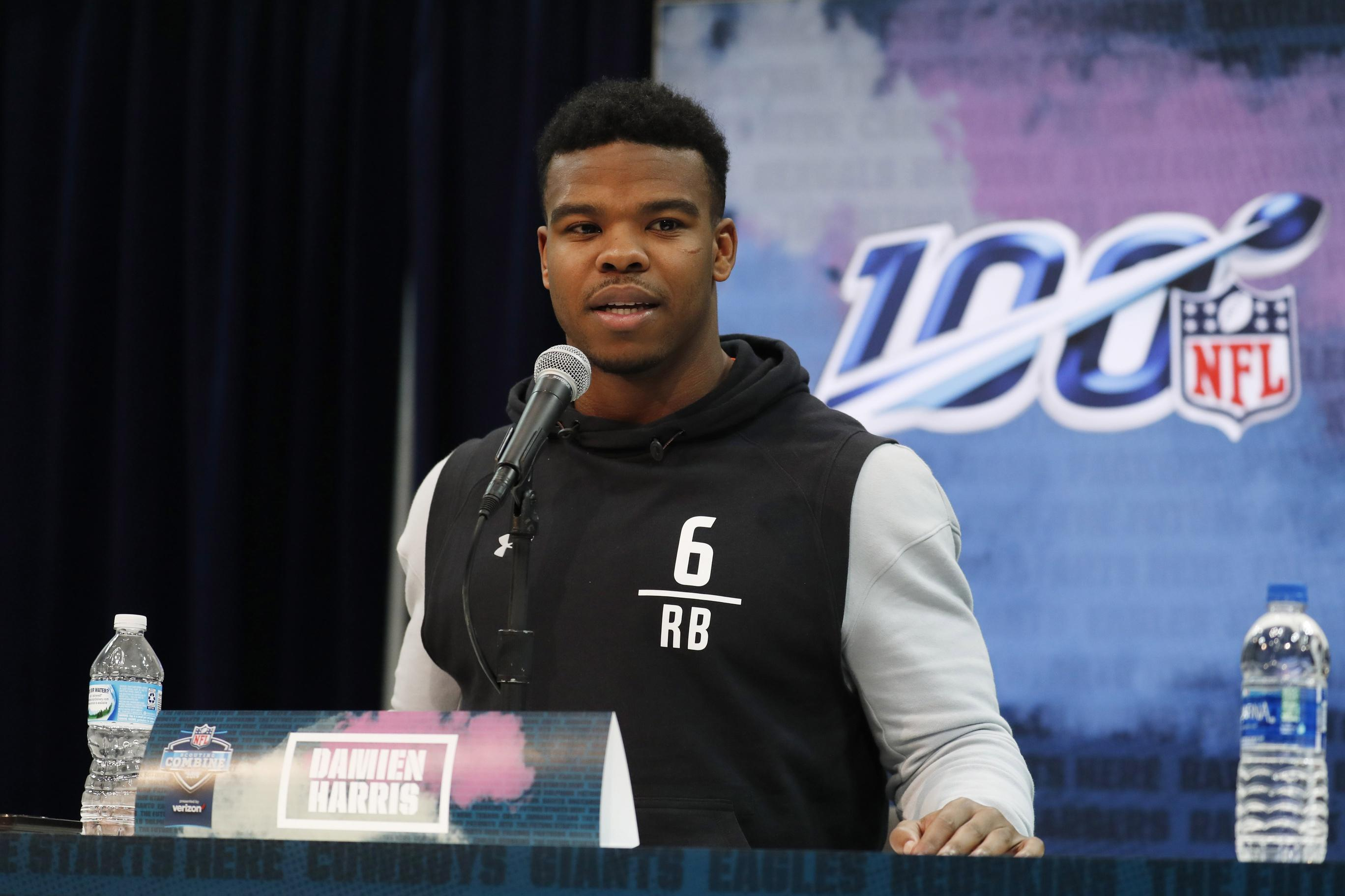Alabama Rb Damien Harris Says Going To Patriots Would Be Easy Transition