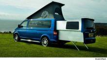 Video: Amazing sliding pod for VW Camper emerges