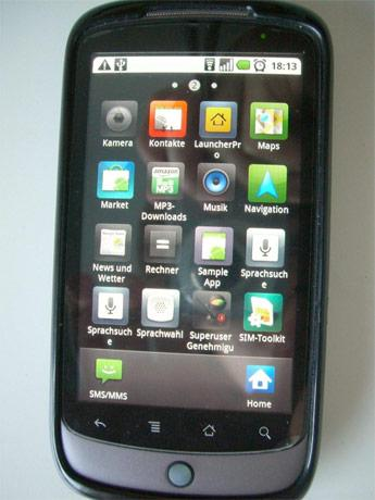 Tweaker ports Samsung's TouchWIz UI onto non-rooted Nexus One for reasons unknown