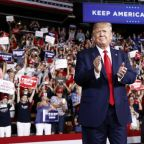 Trump tells supporters to vote for him or else 401ks will go 'down the tubes'
