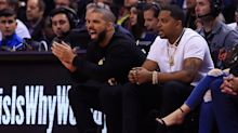 Drake was all over John Wall during the Raptors' Game 2 win over the Wizards