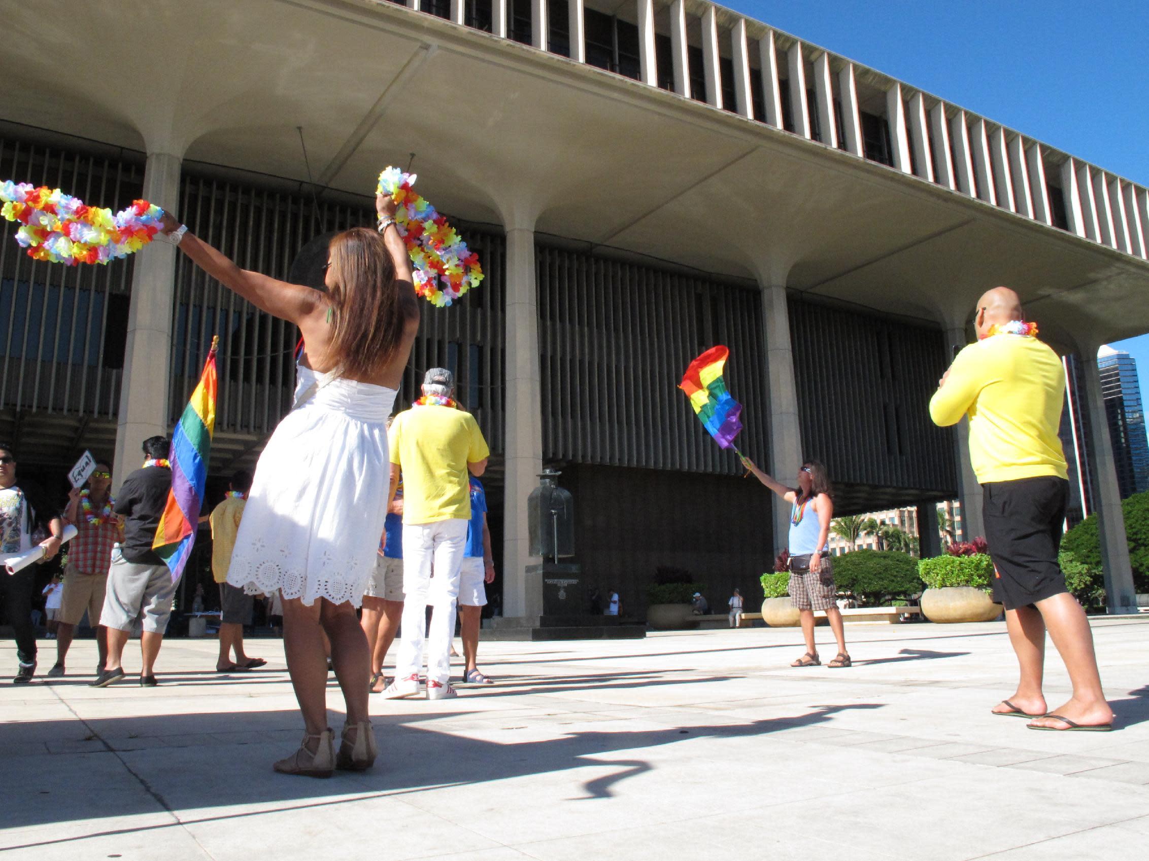 same sex marriage in hawaii news in Alberta