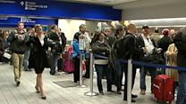 Thousands Stranded at Dallas Forth Worth Airport
