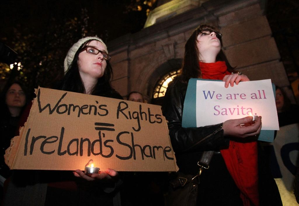 Ireland has some of Europe's most restrictive abortion laws (AFP Photo/Peter Muhly)