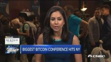 Bitcoin rally this week fails to materialize as New York conference brings more hype than substance