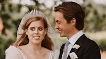 "Princess Beatrice: ""It Was an Honor"" to Wear the Queen's Dress on Her Wedding Day"