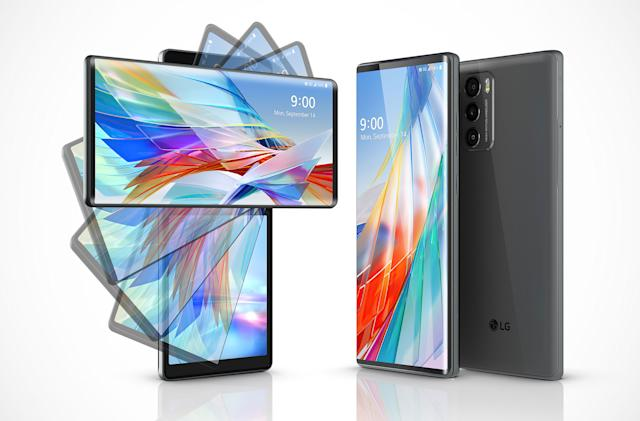 LG's Wing 5G is the strangest dual-screen phone we've ever seen
